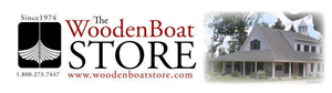 Wooden Boat Store Logo