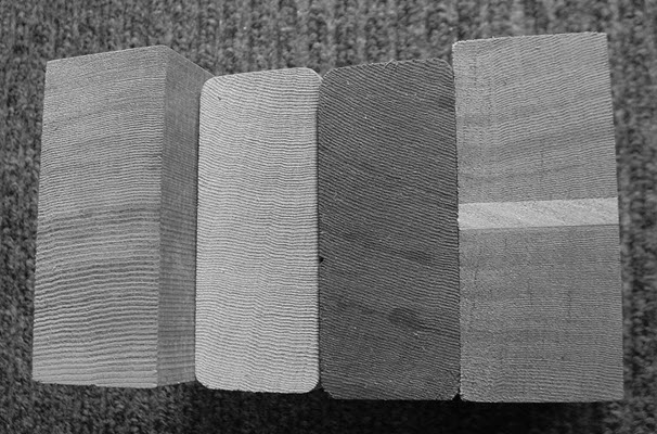 Examples of appropriate wood grain